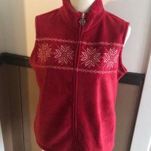 Croft and Barrow snowflake vest